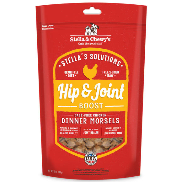 STELLA & CHEWY'S Stella's Solutions: Hip & Joint Boost Cage-Free Chicken (13oz)