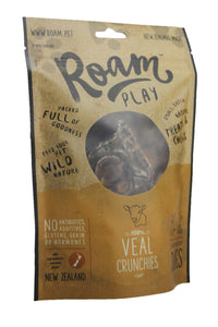 ROAM Air-Dried Treats: 100% Veal Crunchies (150g)