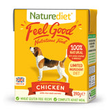 *PROMO* NATUREDIET Feel Good Wet Food -  Chicken (200g/390g)