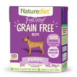 *PROMO* NATUREDIET Feel Good Grain Free Wet Food - Puppy (200g/390g)