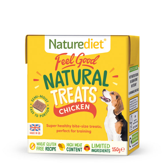 NATUREDIET Feel Good Chicken Natural Treats (150g)