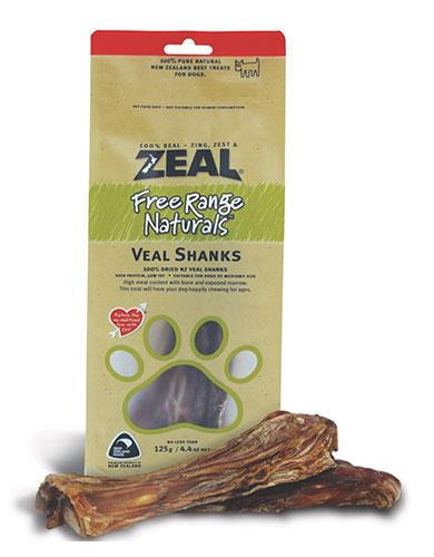 *PROMO* ZEAL Treats: Free Range Naturals Veal Shanks (125g)