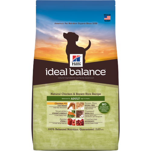 Hill's Ideal Balance Mature Adult (7+ YO) Natural Chicken & Brown Rice Recipe