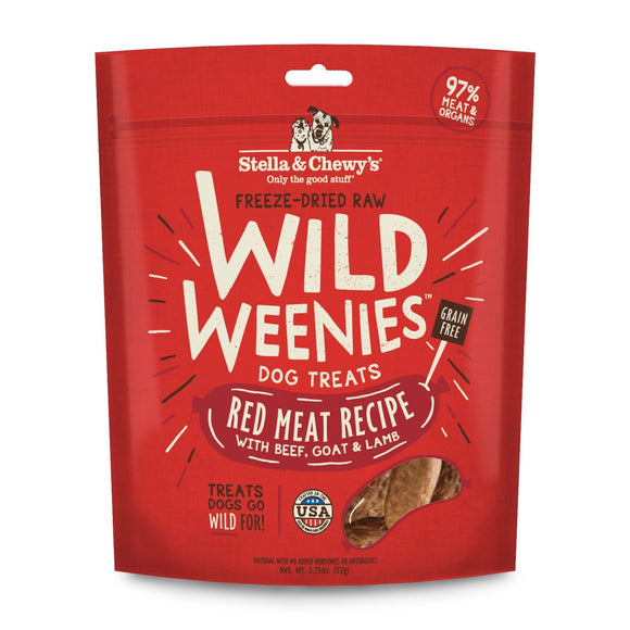 STELLA & CHEWY'S Wild Weenies: Red Meat (3.25oz)