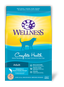 WELLNESS Complete Health Dry Food: Adult Whitefish & Sweet Potato (5lb/30lb)