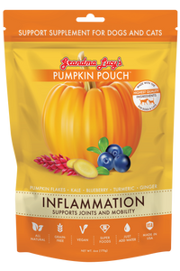 GRANDMA LUCY'S Pumpkin Pouch: Inflammation (Supports Joints and Mobility) (2oz/170g)