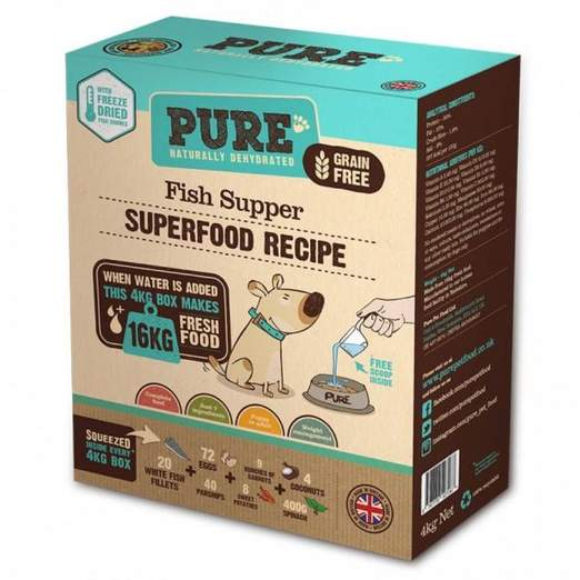 PURE Fish Supper Freeze-Dried Dog Food
