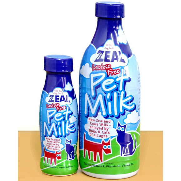 *PROMO* ZEAL Lactose-Free Pet Milk (380ml/1000ml)