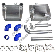 Load image into Gallery viewer, CXRacing 3000GT Side Mount Intercooler + Piping Kit For Mitsubishi 3000GT VR4 Dodge Stealth TD04 TT