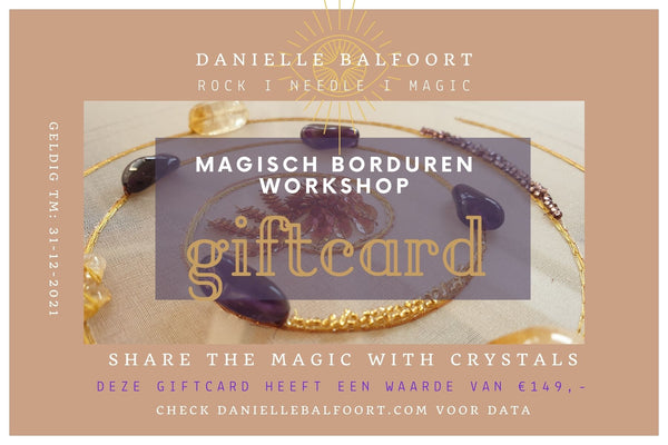 Magisch Borduren Workshop giftcard