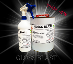Gloss Blast - Stainless Steel Polish
