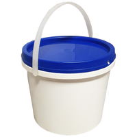 Plastic Pail Food Grade - 2 Litre - Sprint Cleaning Products