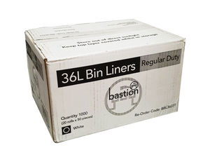 Bin Liners - 36 Litre Regular Duty - Sprint Cleaning Products
