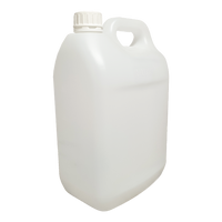 Plastic Bottle Jerrycan Natural DG - 5 Litre - Sprint Cleaning Products
