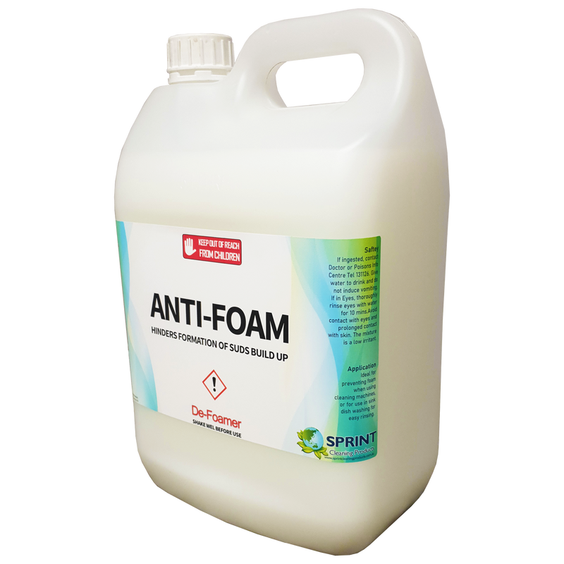 Anti Foam - Defoamer - Sprint Cleaning Products