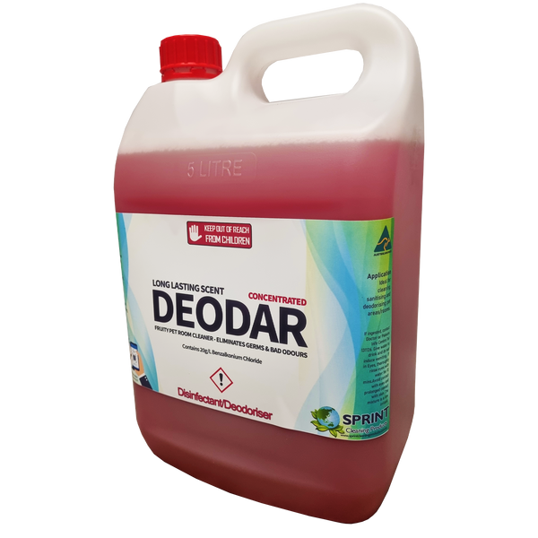 Deodar - Fruity Pet Room Cleaner & Deodoriser - Sprint Cleaning Products