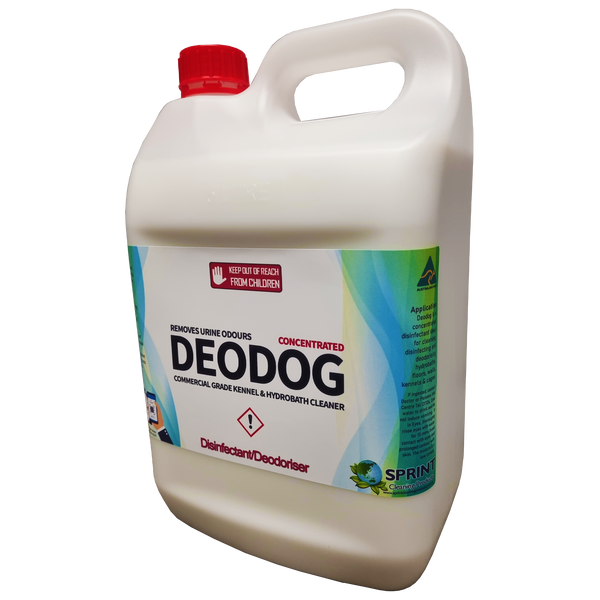 Deodog - Commercial Grade Kennel & Hydrobath Cleaner - Sprint Cleaning Products