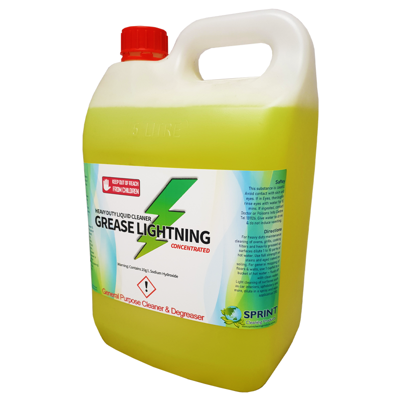 Grease Lightning - General Purpose Cleaner & Degreaser - Sprint Cleaning Products