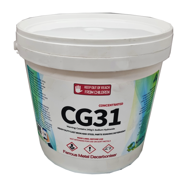 CG31 -  Ferrous Metals Decarboniser - Sprint Cleaning Products