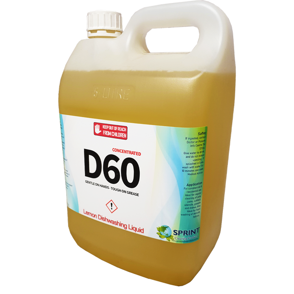 D60 Mint/Lemon - Dishwashing Detergent - Sprint Cleaning Products