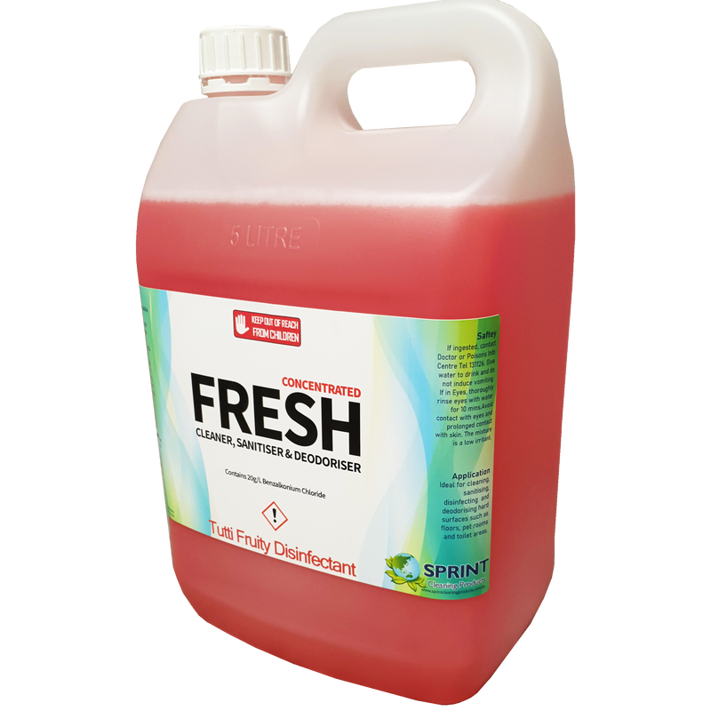 Fresh Disinfectant - Tutti Fruity - Sprint Cleaning Products