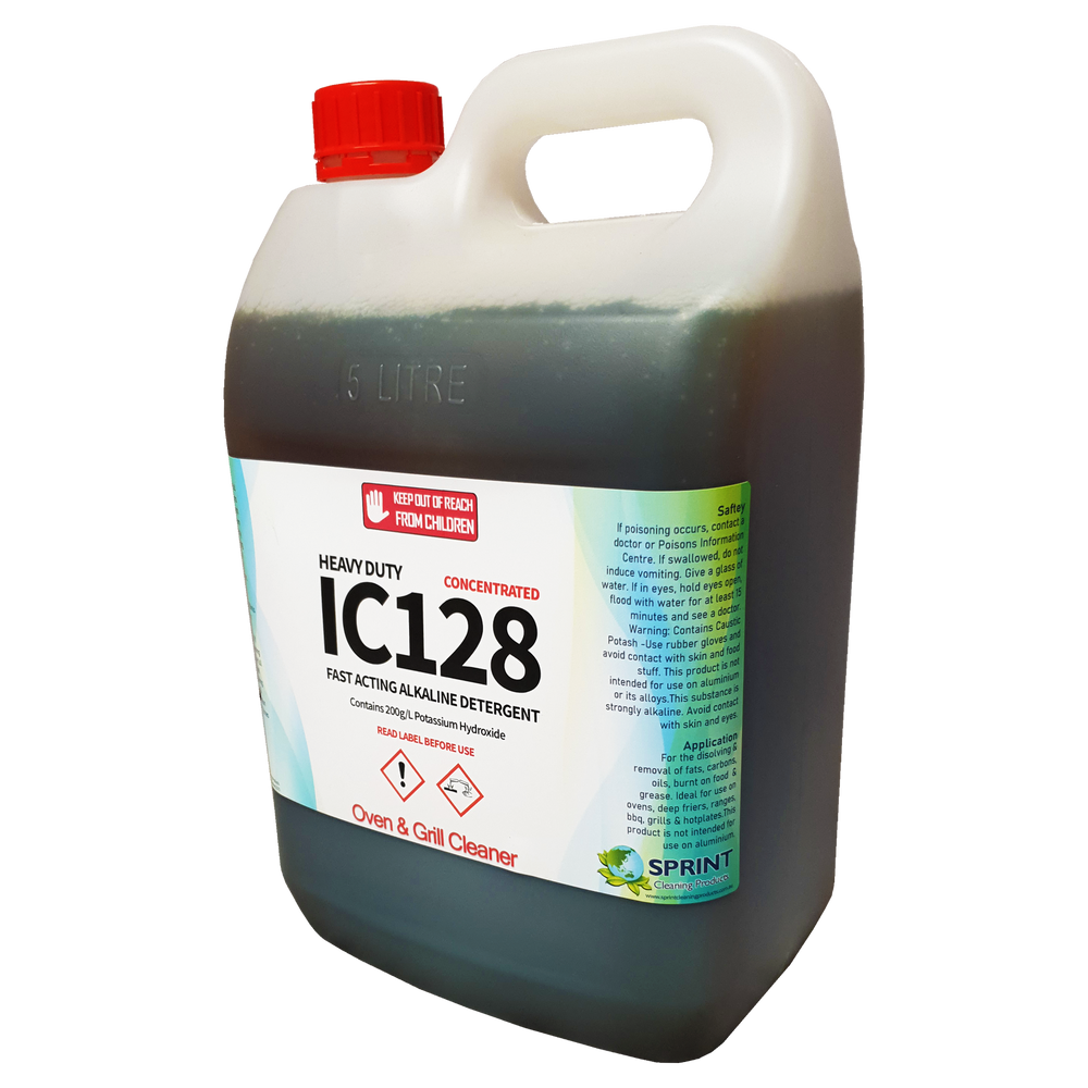IC128 - Heavy Duty Oven & Grill Cleaner - Sprint Cleaning Products