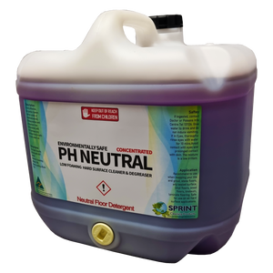 PH Neutral - Low Foaming Hard Surface Detergent - Sprint Cleaning Products