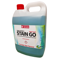 Most stain removers are formulated with harsh bleaches, where as stain-go is bleach-free & still very effective. Quick and effective at removing even the most stubborn stains without bleaching. Scientifically formulated, the balanced combination of ingredients provide a unique cleansing action. Stain Go can be used on silks and fine delicate fabrics, wool, cotton and polyester.