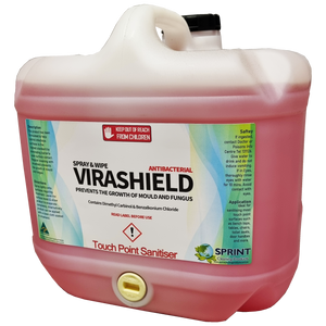 Virashield - Lemon Disinfecting Surface Spray - Sprint Cleaning Products