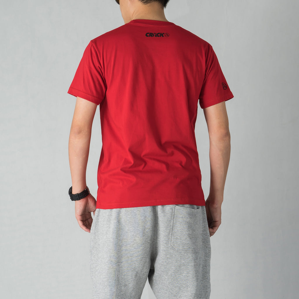 COLLAR TSHIRT RED