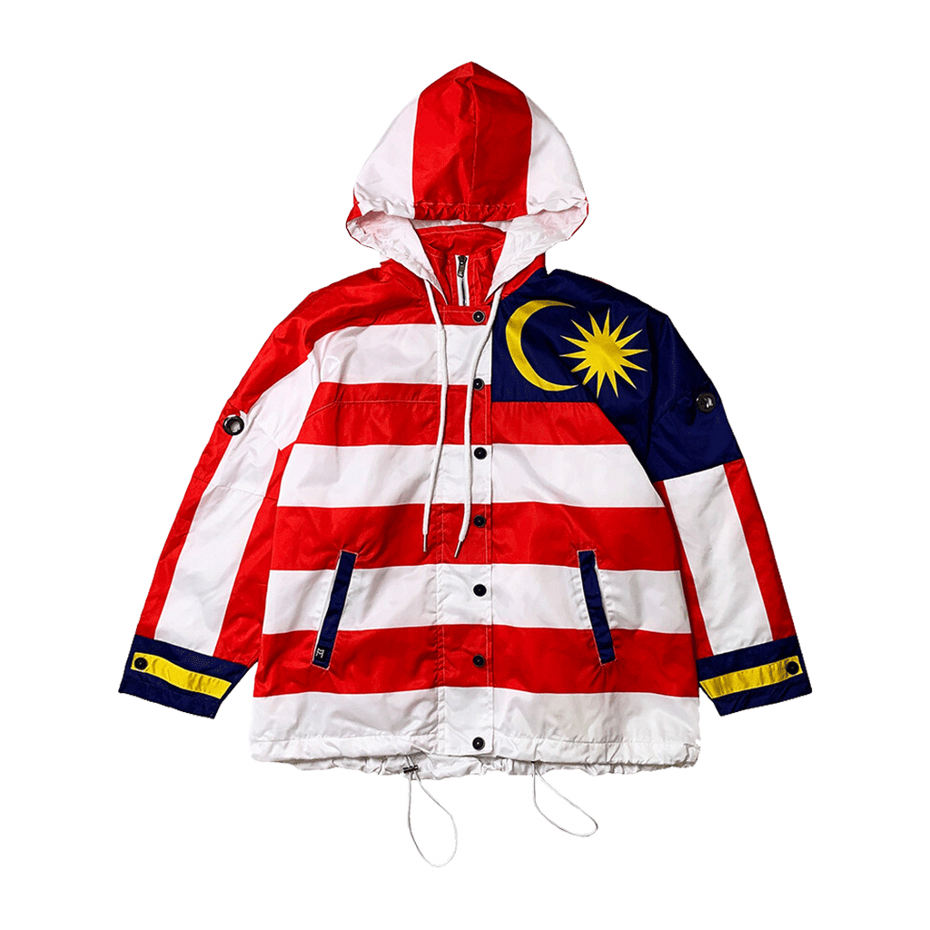 M'SIA HOODED PARKA JACKET