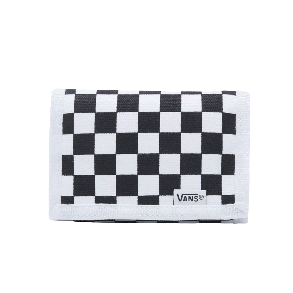 VANS M SLIPPED WALLET (CHECKERBOARD) B&W