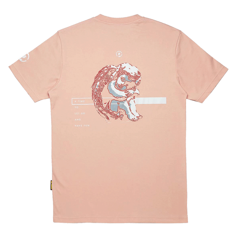 'GOOD TIME AT EASE'' BLOOD ANGEL T-SHIRT SPECIAL EDITION (BEIGE PINK)