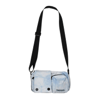 TIE DYE SHOULDER BAG (BLUE)