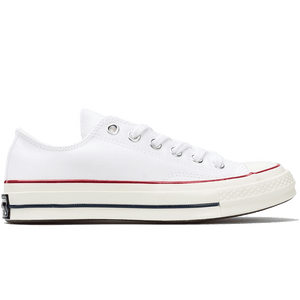 CT AS CHUCK 70 OX WHITE/GARNET/EGRET