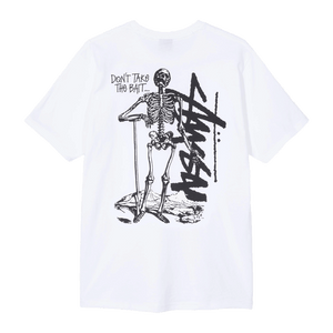 STUSSY DON'T TAKE THE BAIT TEE