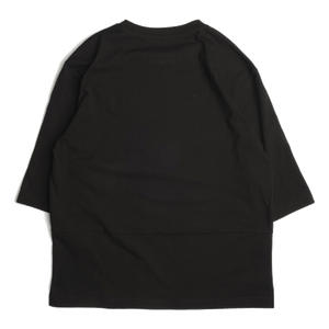 3/4 SLEEVES TEE (BLACK)