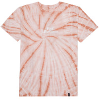 BAR BIRD TIE-DYE S/S TEE CORAL HAZE