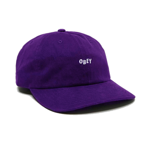 CUTTY 6 PANEL SNAPBACK PURPLE