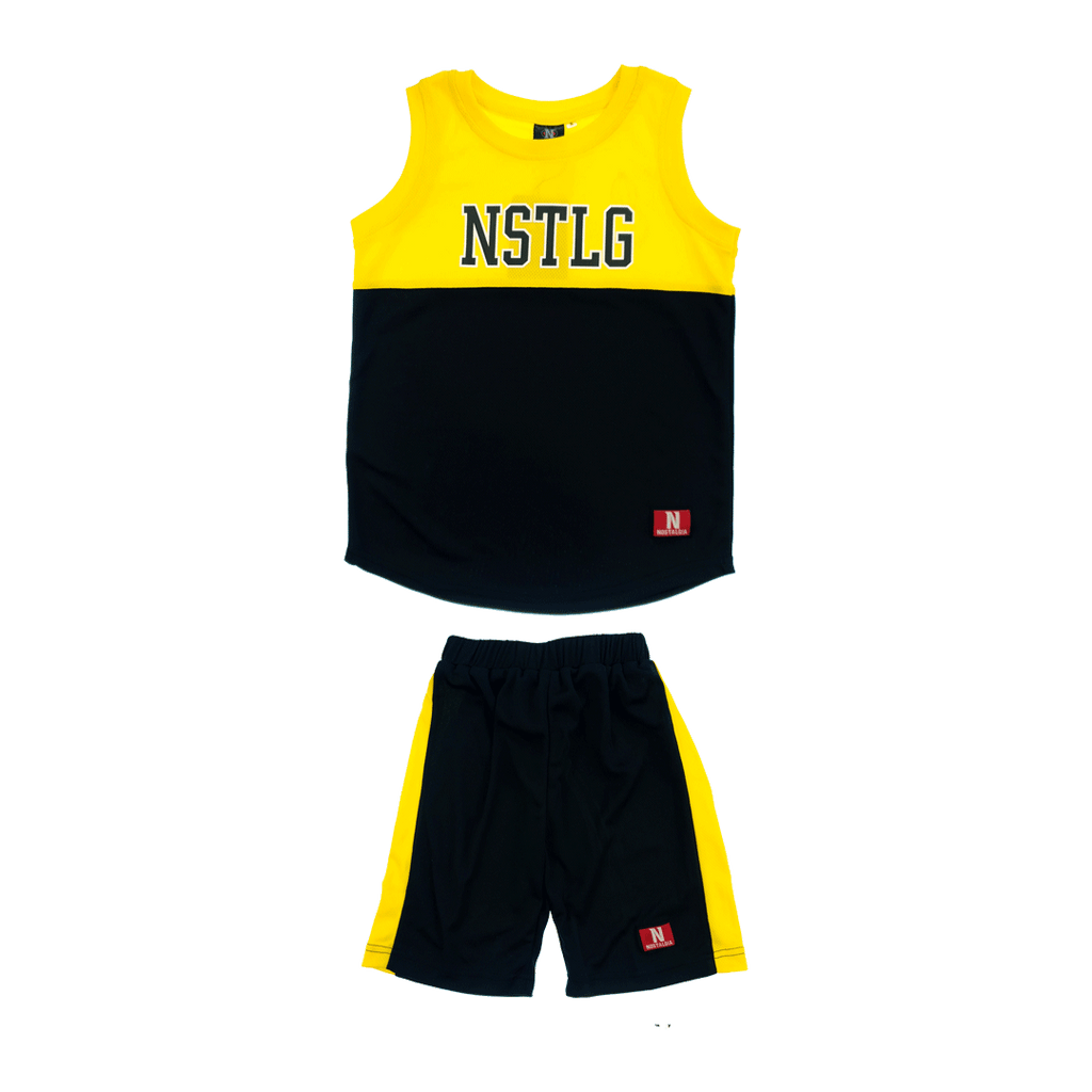 NSTLG BASKETBALL JERSEY WITH PANTS(KIDS)