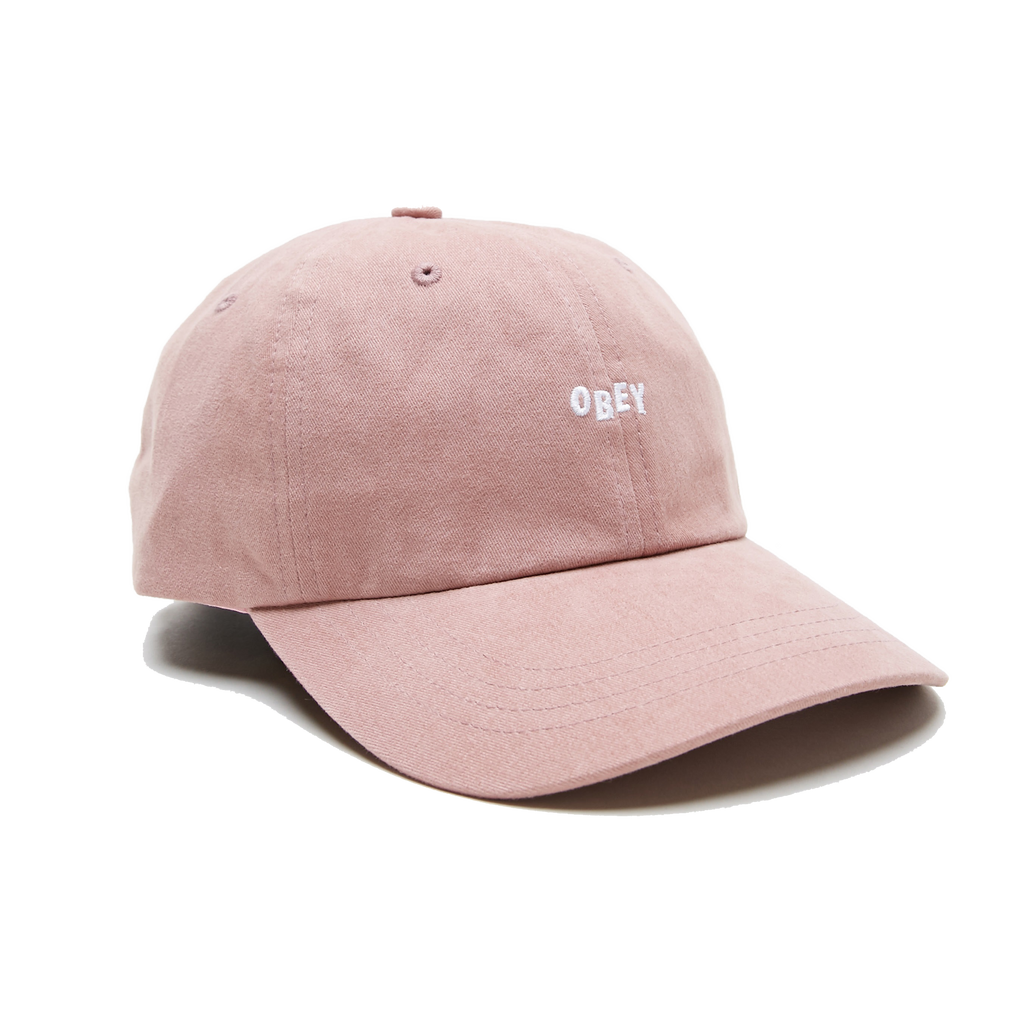 JUMBLE BAR III 6 PANEL HAT ROSE