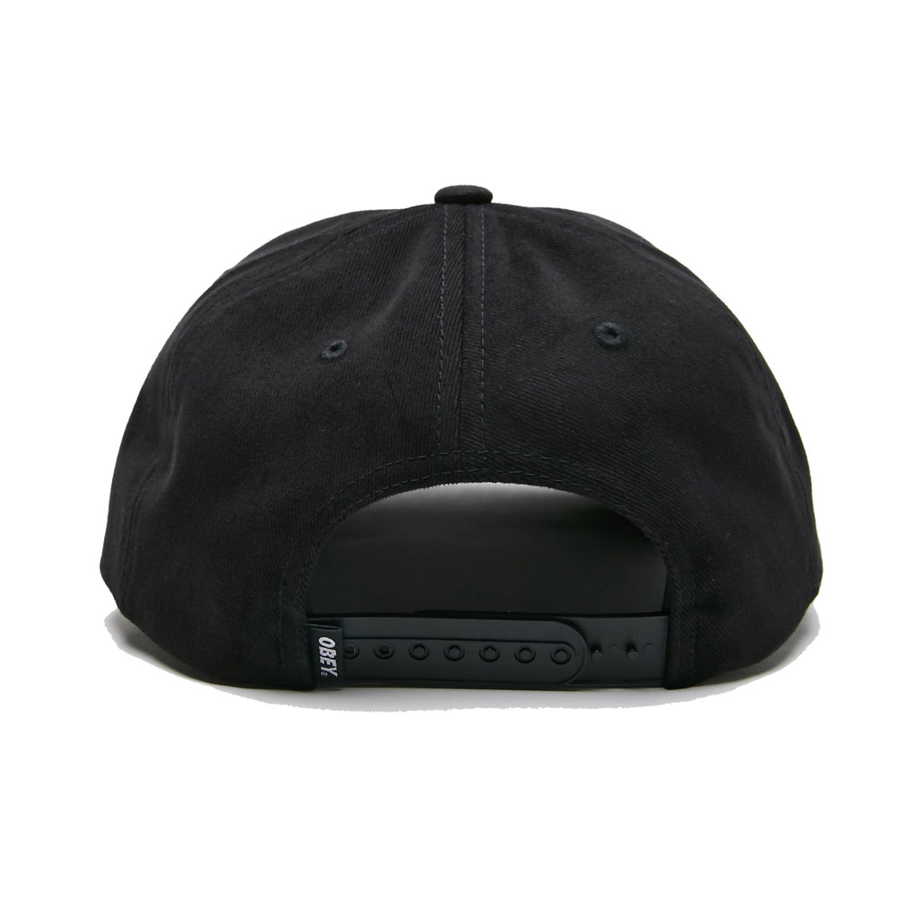 SUBVERSION 6 PANEL SNAPBACK BLACK
