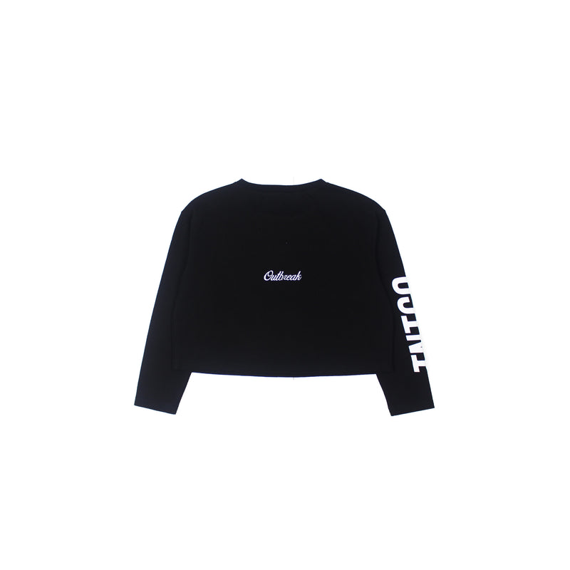 OUTBREAK CROPPED LONG SLEEVE
