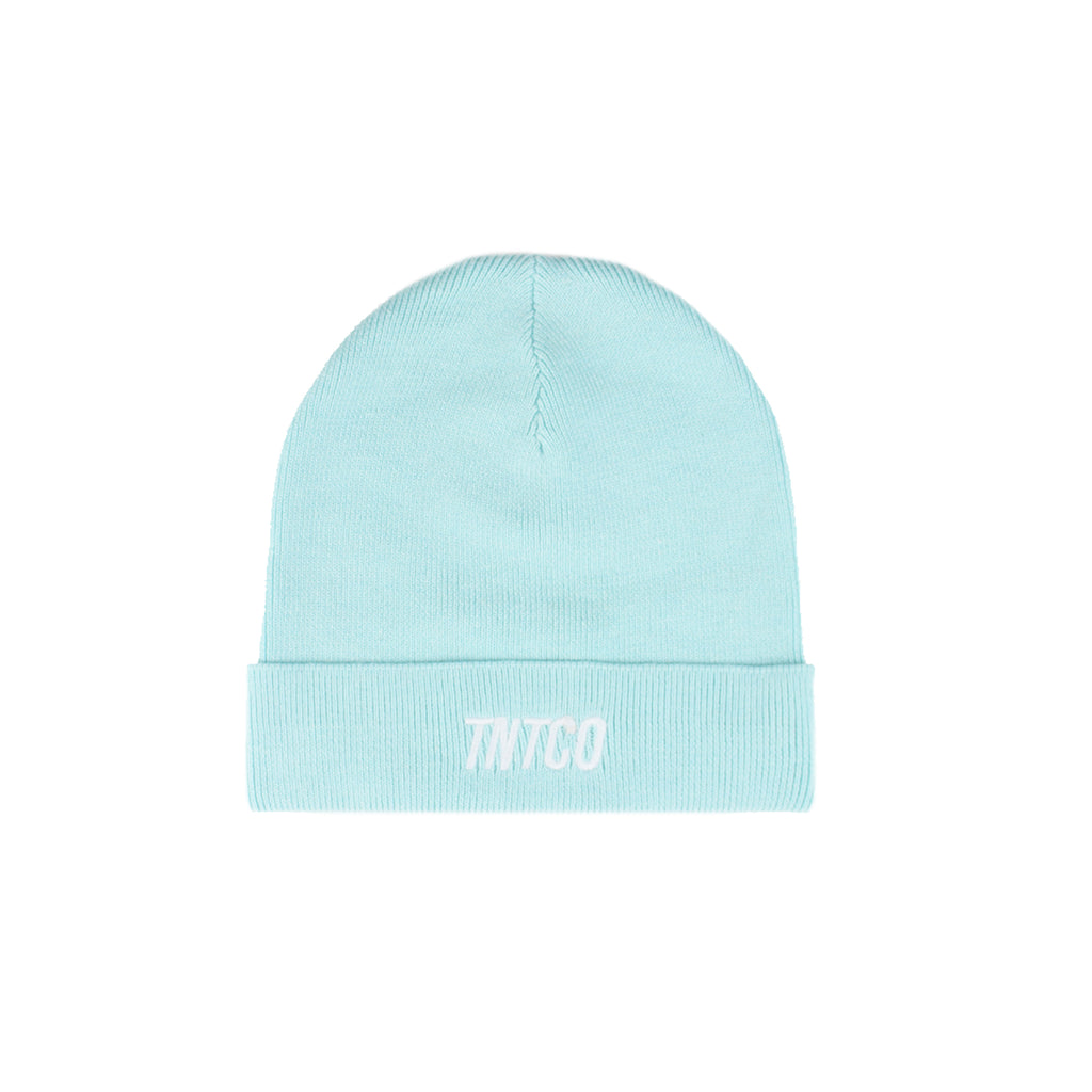 ITALIC BEANIE LIGHT BLUE
