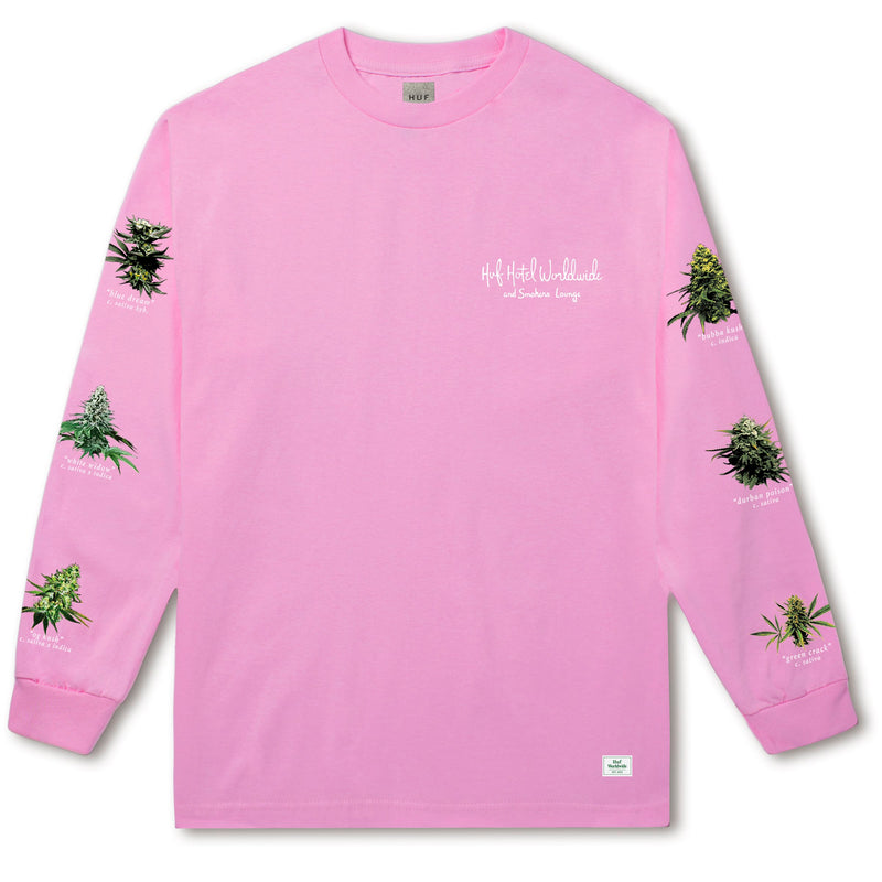 TROPICAL PLANTS L/S TEE PINK