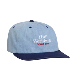 WORLDWIDE DENIM 6 PANEL HAT
