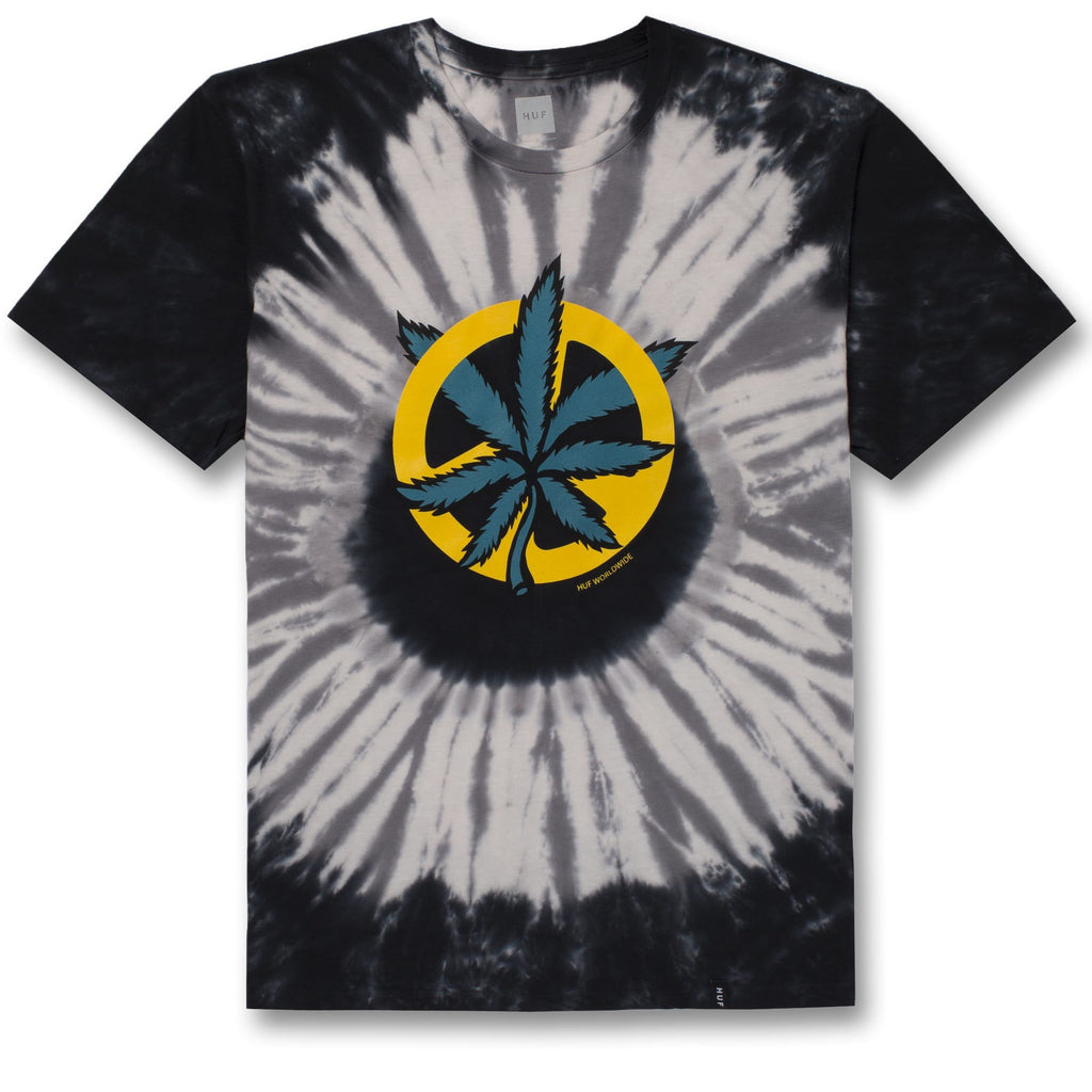 DISTURB THE PEACE TIE-DYE S/S TEE GREY