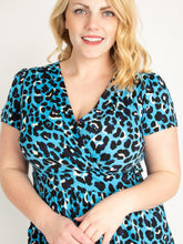 Load image into Gallery viewer, Jolie Moi Leopard Print Fit and Flare Dress