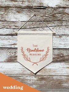 wedding flag banners