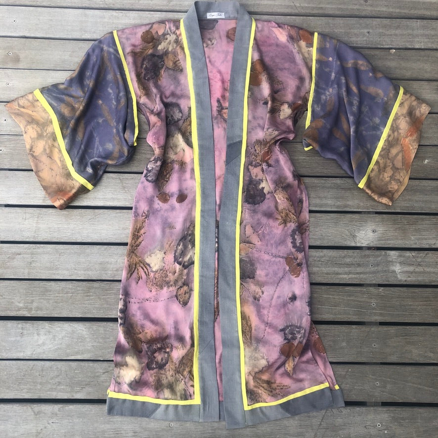 Venus Kimono in Rose, Lilac and Gold